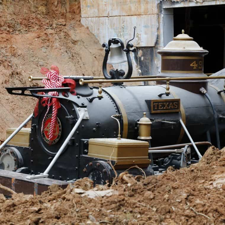 the texas locomotive, texas dirt