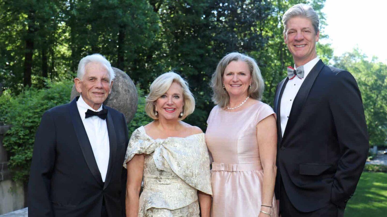 Bob and Jenny Pruitt with Stephanie and David Boehmig