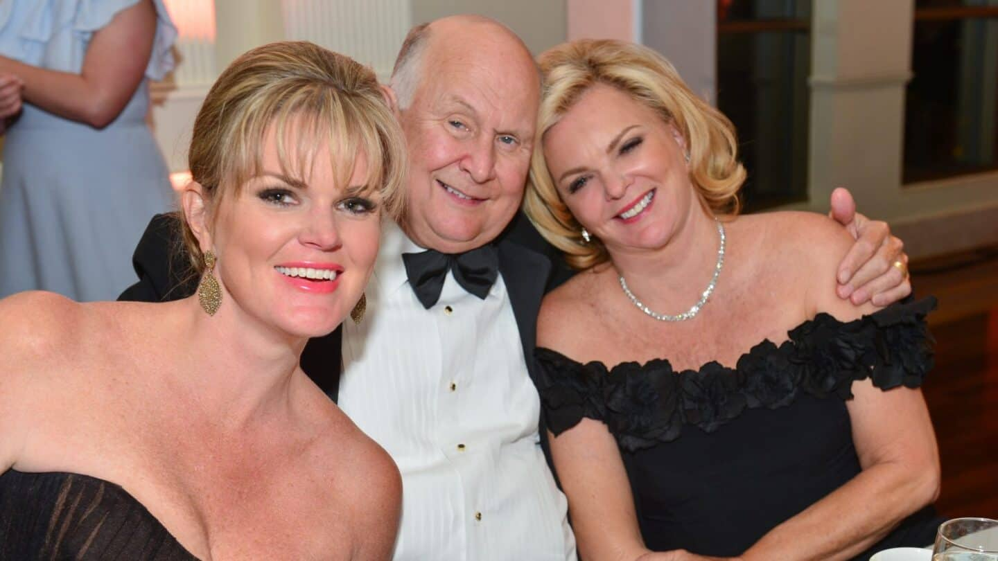 Jenny Barfield, Gary and Kathleen Rollins