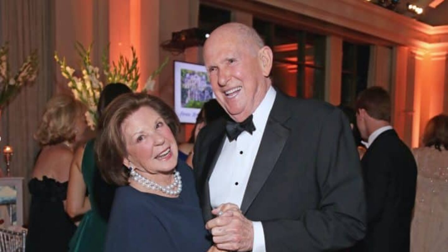 Peggy and Randal Rollins at Swan House Ball