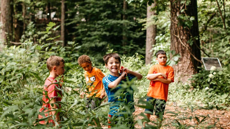 kids at summer camp 2019