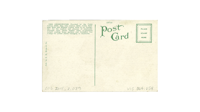 wish you were here postcard (back)