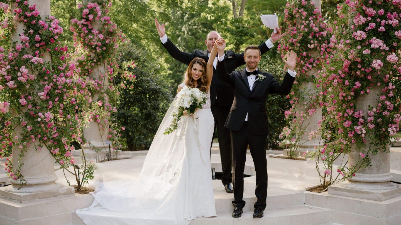 Kelly Jacob Wedding at Garden