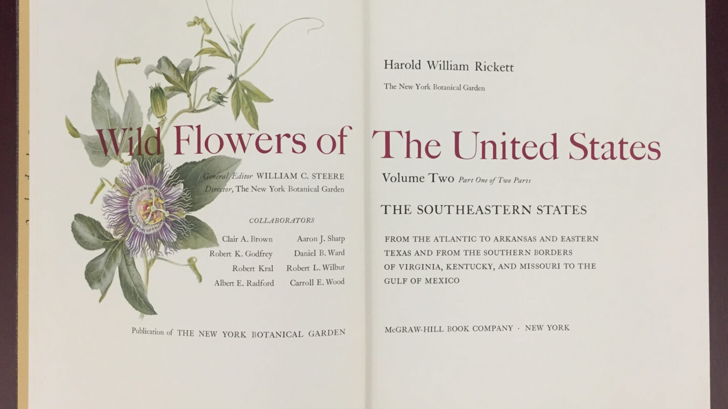 Wild flowers of the United States CGL