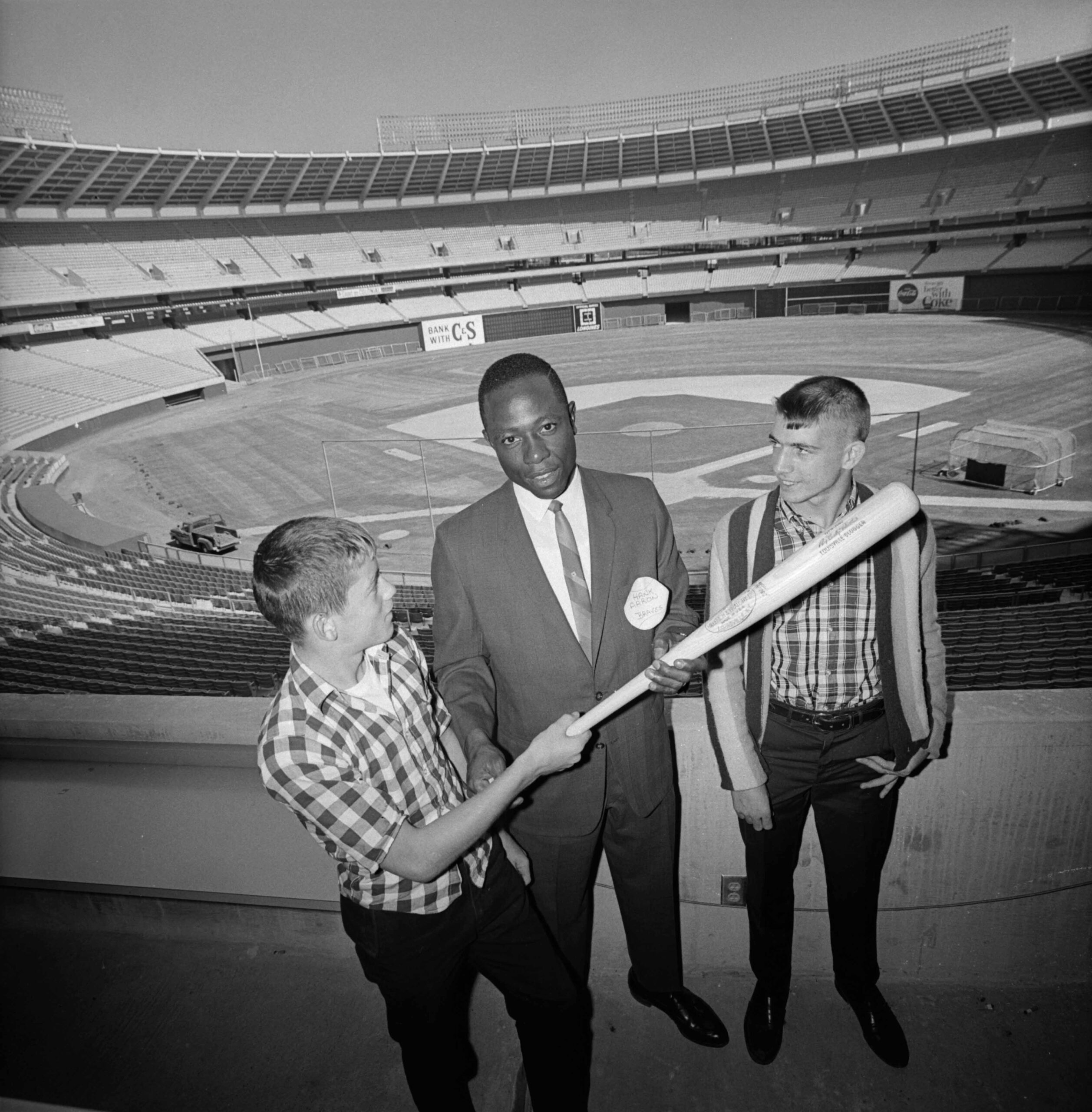 Hank Aaron archival photo