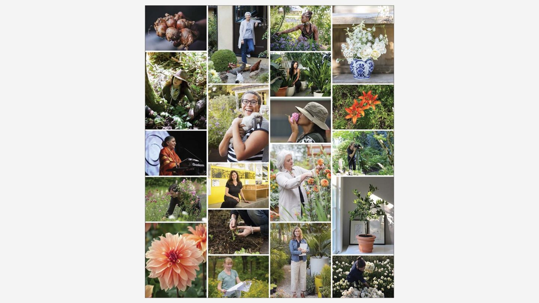 Cheroke Garden Library web listing collage of photos
