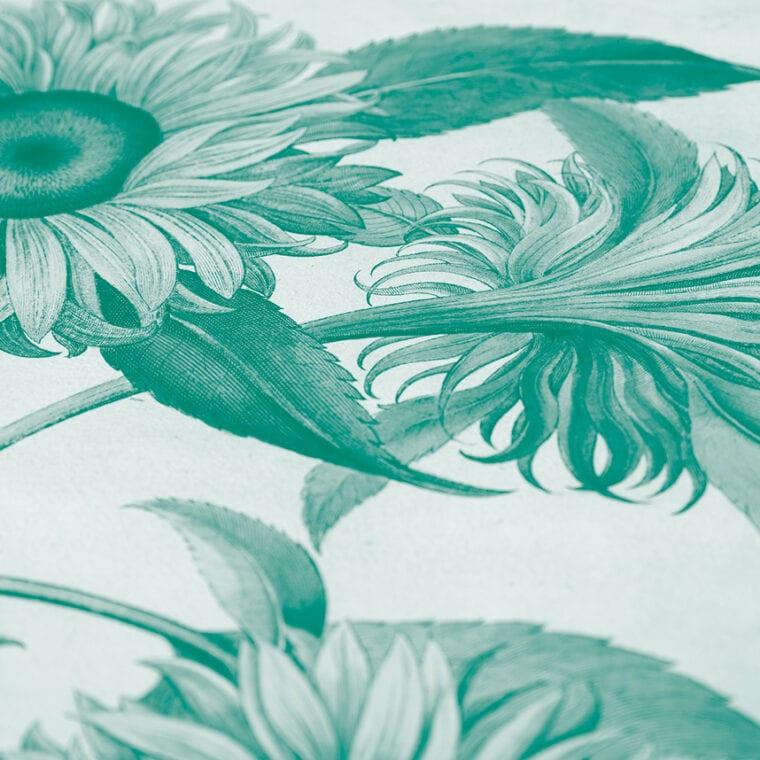 green flower image, highlight
