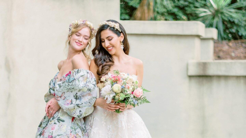 Swan House Editorial bride
