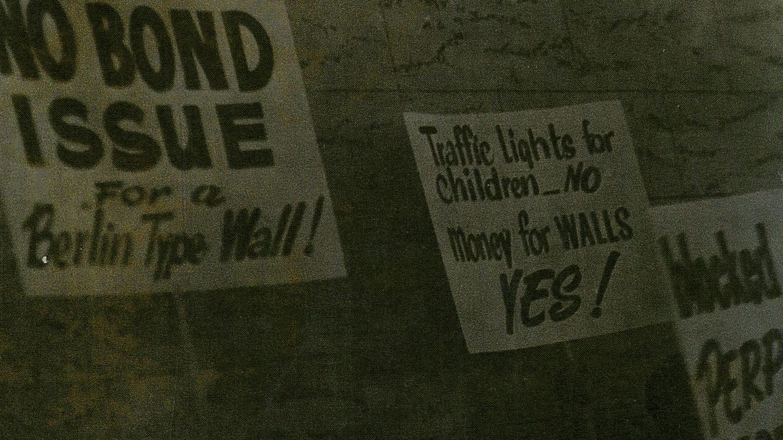 Atlanta Wall with posters