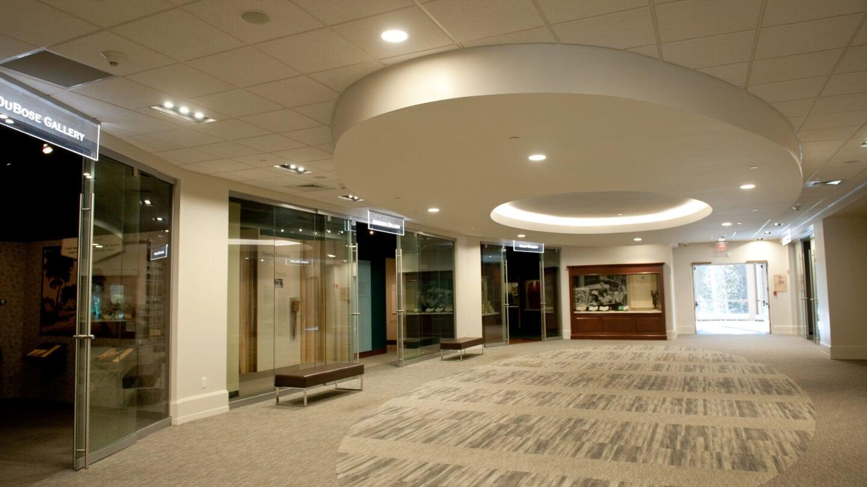 Exhibition hallway