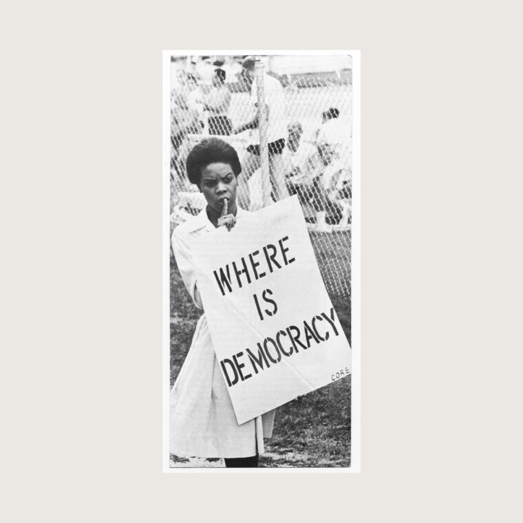 Congress of Racial Equality (CORE) organizing pamphlet