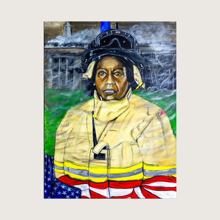 Tanya Justin, Firefighter/Paramedic, DC Fire Department