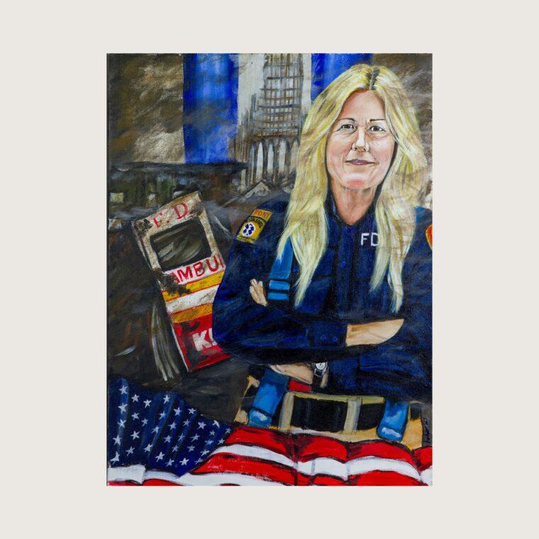 Donna Krammer, EMT, Fire Department of New York