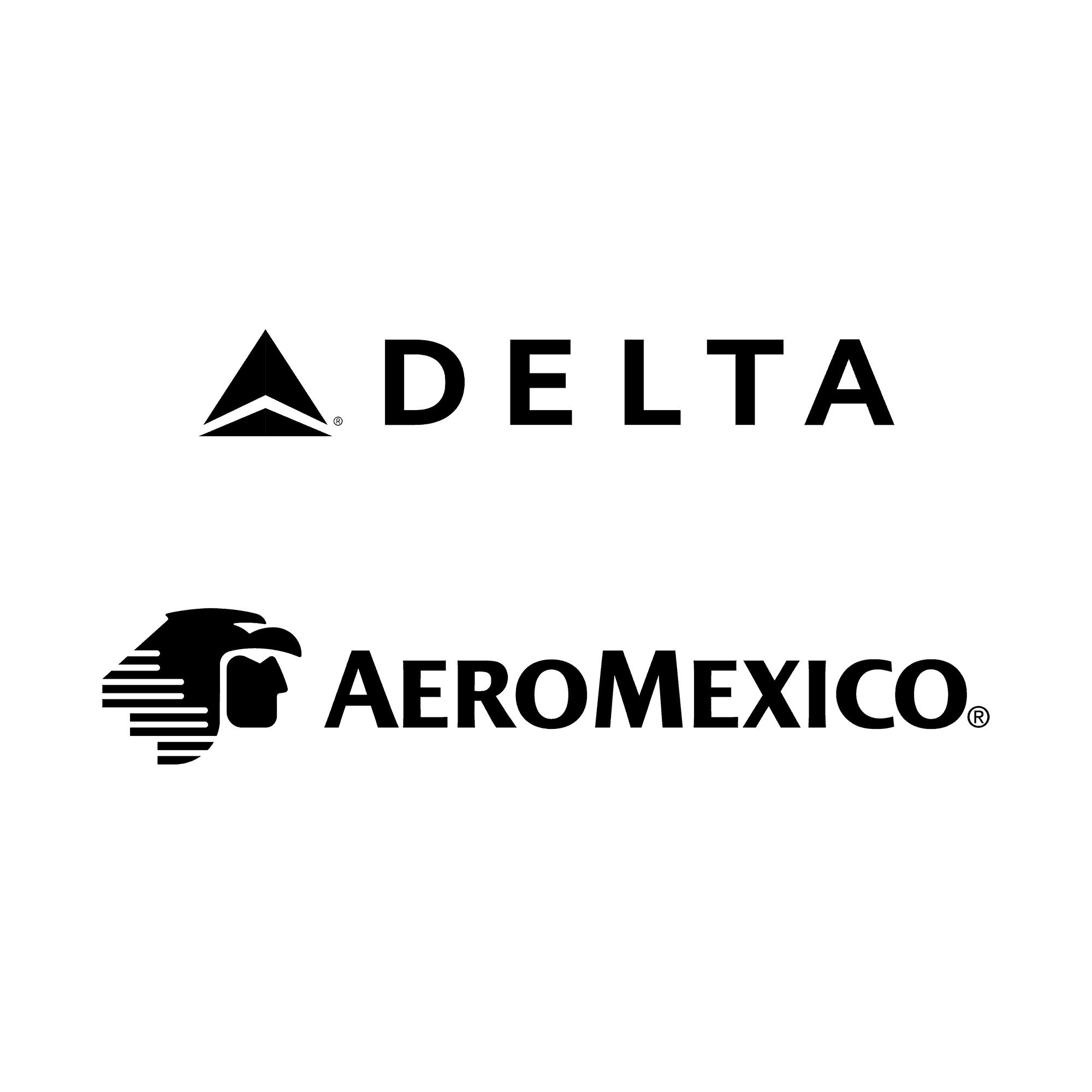 Delta & AeroMexico Logo
